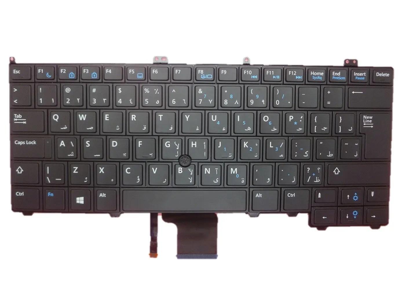 dell htw9r latitude e7440 arabic keyboard astringo. Black Bedroom Furniture Sets. Home Design Ideas