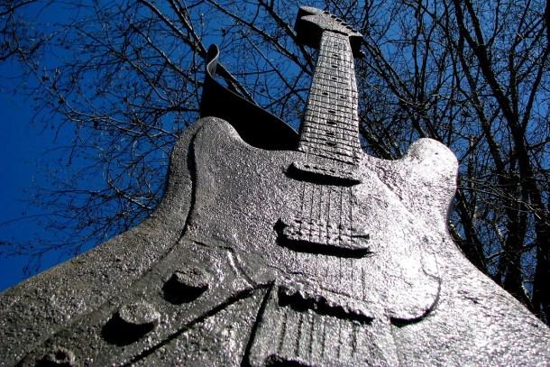 Kurt Cobain Aberdeen Memorial