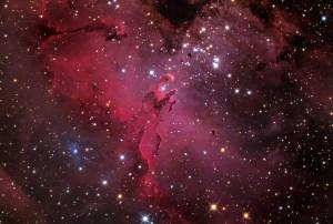 M16 ve Kartal Bulutsusu (Telif: Adam Block/Mount Lemmon SkyCenter/University of Arizona)