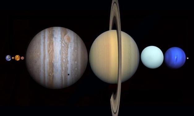 ¿Sabías que todos los planetas del Sistema Solar caben entre La Tierra y La Luna?