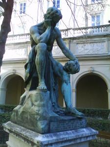 Estatua de Demócrito