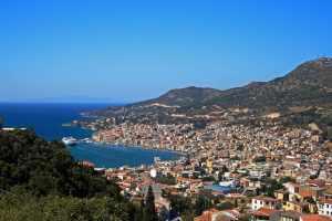 Vathy, la capital de Samos