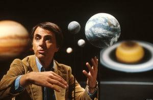 El astrónomo Carl Sagan.
