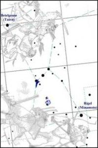 La eterna lucha de Genji y Heike en la constelación de Orión