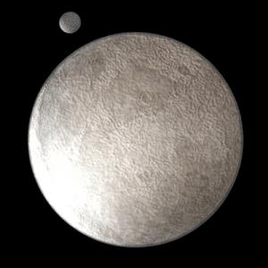 Eris y su luna, Disnomia