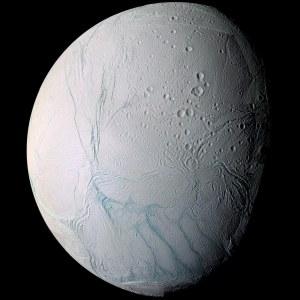 Encélado Crédito: Cassini Imaging Team, SSI, JPL, ESA, NASA