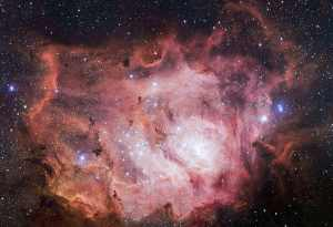 La Nebulosa de la Laguna Crédito: ESO/VPHAS+ team