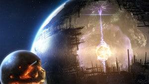 Concepto artístico de una esfera de Dyson. Crédito: Adam Burn