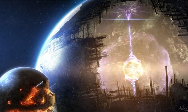 Megaestructuras alienígenas en torno a púlsares