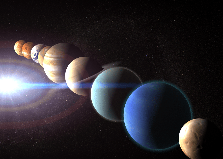 Las alineaciones planetarias y sus efectos sobre la Tierra