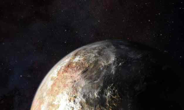 Las dos caras de Plutón