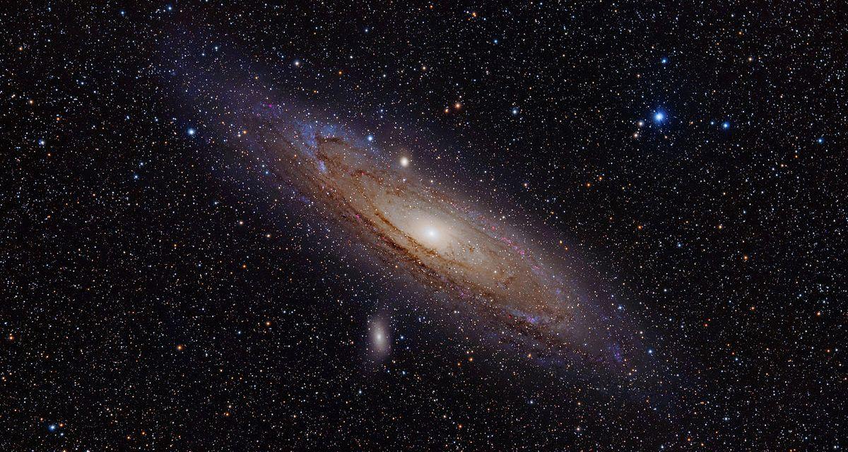 Andrómeda devoró una gran galaxia hace 2 000 millones de años