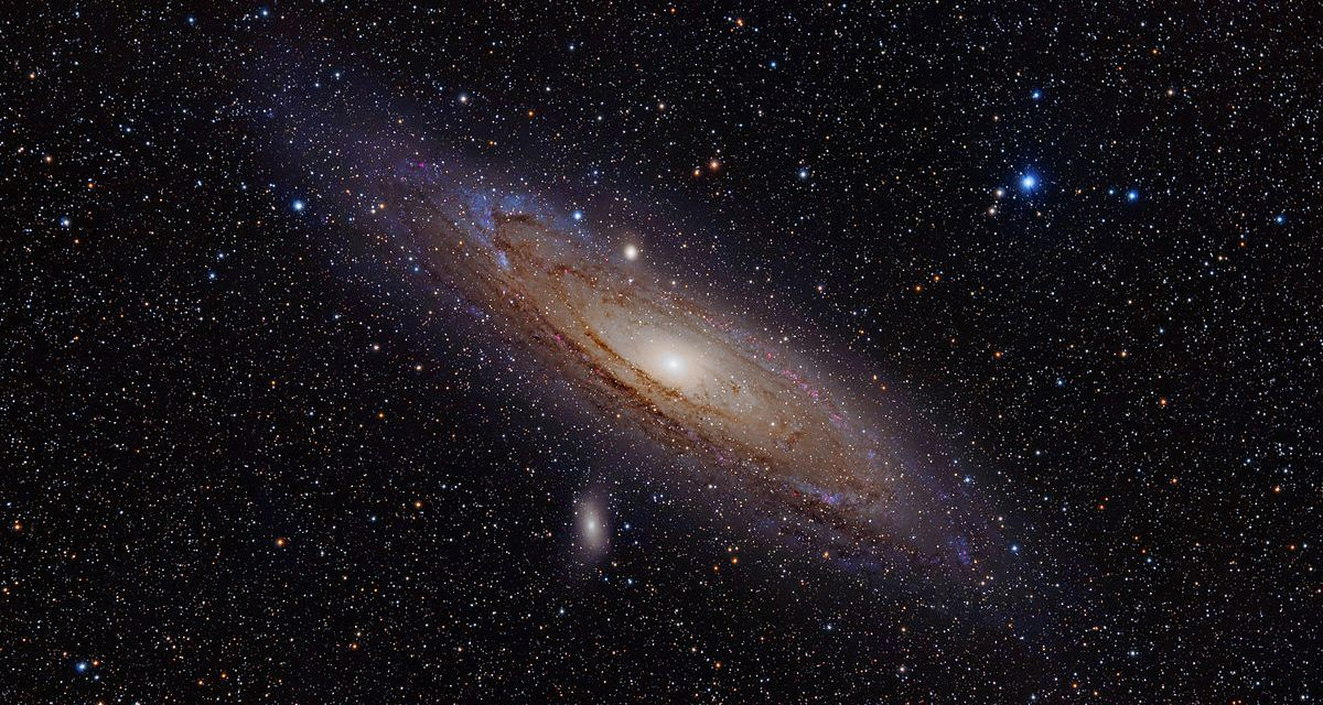 En busca de vida extraterrestre en Andrómeda
