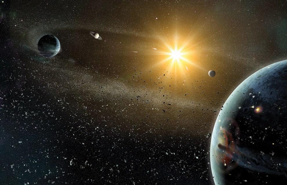 La resonancia orbital