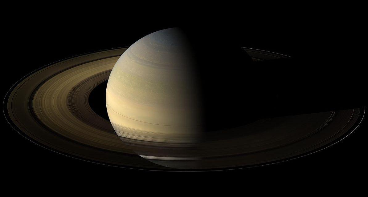Los anillos de Saturno podrían ser muy antiguos