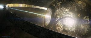 Concepto artístico de una esfera de Dyson. Crédito: Levy Wang