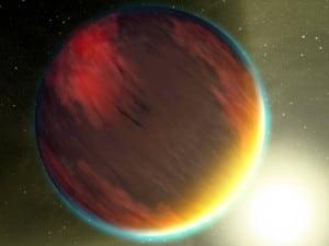Concepto artístico de WASP-47b.  Crédito: NASA/JPL-Caltech