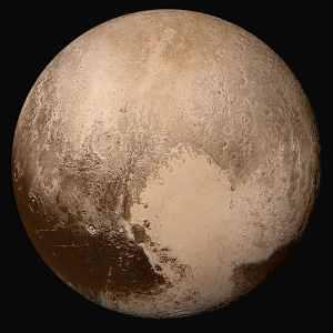 Plutón, un planeta enano del Cinturón de Kuiper
