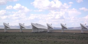 El radiotelescopio Very Large Array de México. Crédito: Hajor