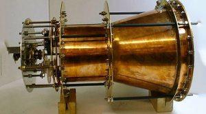 Prototipo del motor electromagnético de la NASA. Crédito: NASA/Eagleworks, via NASA Spaceflight Forum