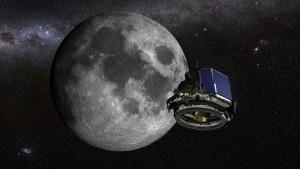 Concepto artístico del módulo lunar MX-1 de la empresa Moon Express. Crédito: Moon Express.