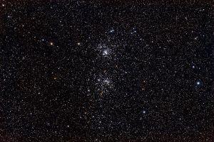 El Cúmulo Doble. Crédito: Genuson/Wikipedia