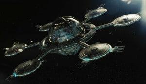 """La estación espacial """"Starbase 1"""" de Star Trek. Crédito: Paramount Pictures, CBS Studios"""