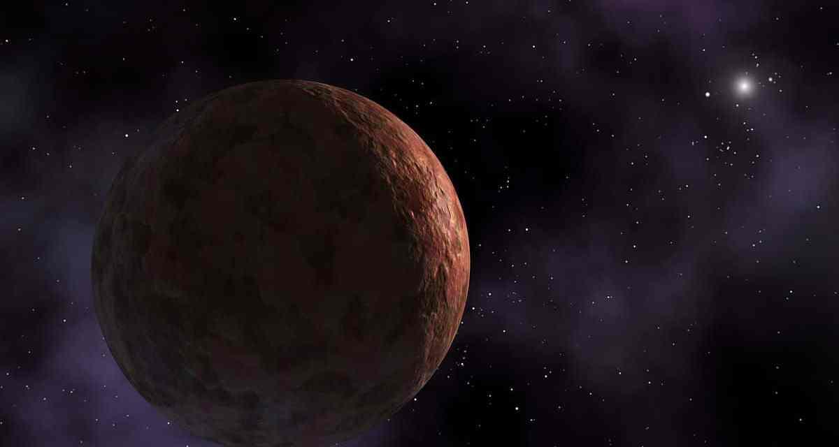 Sedna, el planeta enano más lejano del Sistema Solar