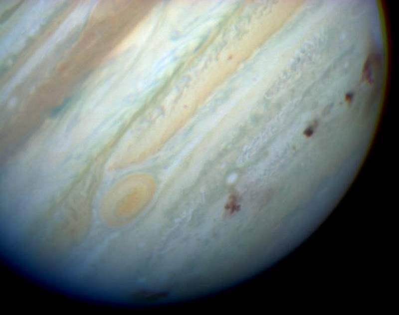 Júpiter no es el escudo del Sistema Solar