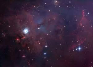 Esta es la nebulosa NGC 1999, muy cerca de la Nebulosa de Orión. Cada día, en las redes sociales, Astrobitácora publica una imagen de una nebulosa. Crédito: Robert Gendler