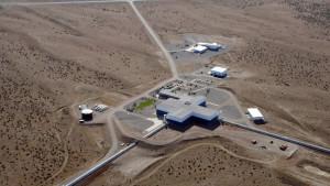 Imagen aérea del observatorio de LIGO en Hanford. Crédito: Caltech/MIT/LIGO Laboratory