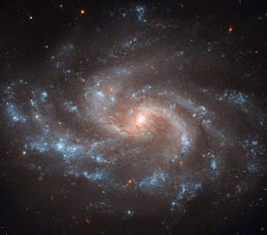 Algunas galaxias rotan a la misma velocidad
