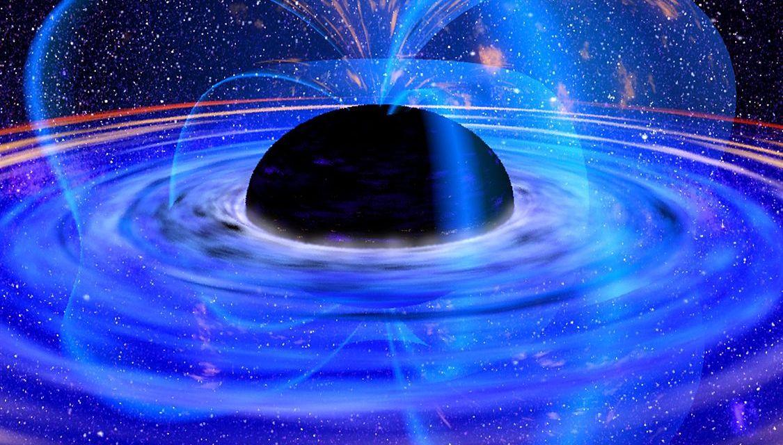 Descubren un extraño agujero negro supermasivo