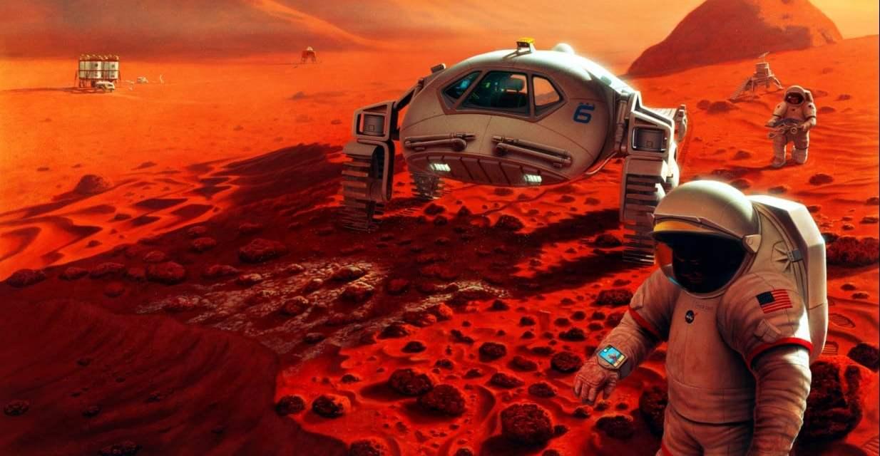 La NASA busca ayuda para construir hábitats para misiones a Marte