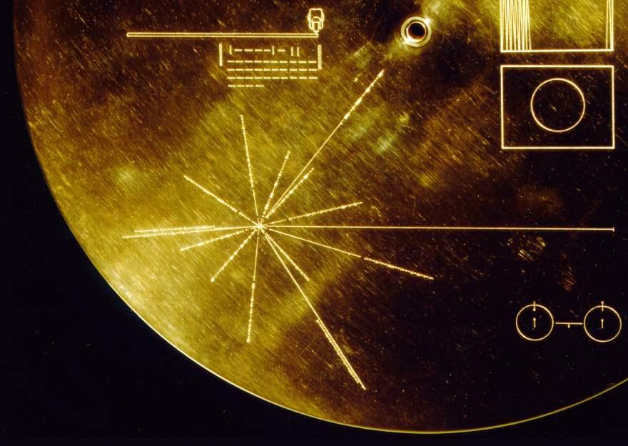 ¿Por qué hay 14 púlsares en los discos de las Voyager?