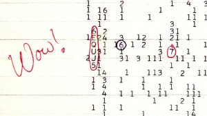 ¿Qué fue la señal Wow!?: cómo se captó, etc...