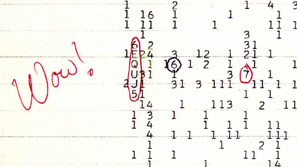 """La señal """"Wow!"""" pudo ser provocada por cometas"""