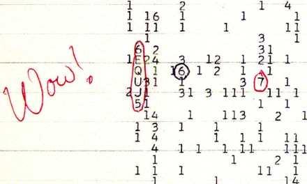 La señal «Wow!» pudo ser provocada por cometas