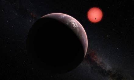 La estrella TRAPPIST-1 es demasiado violenta para la vida