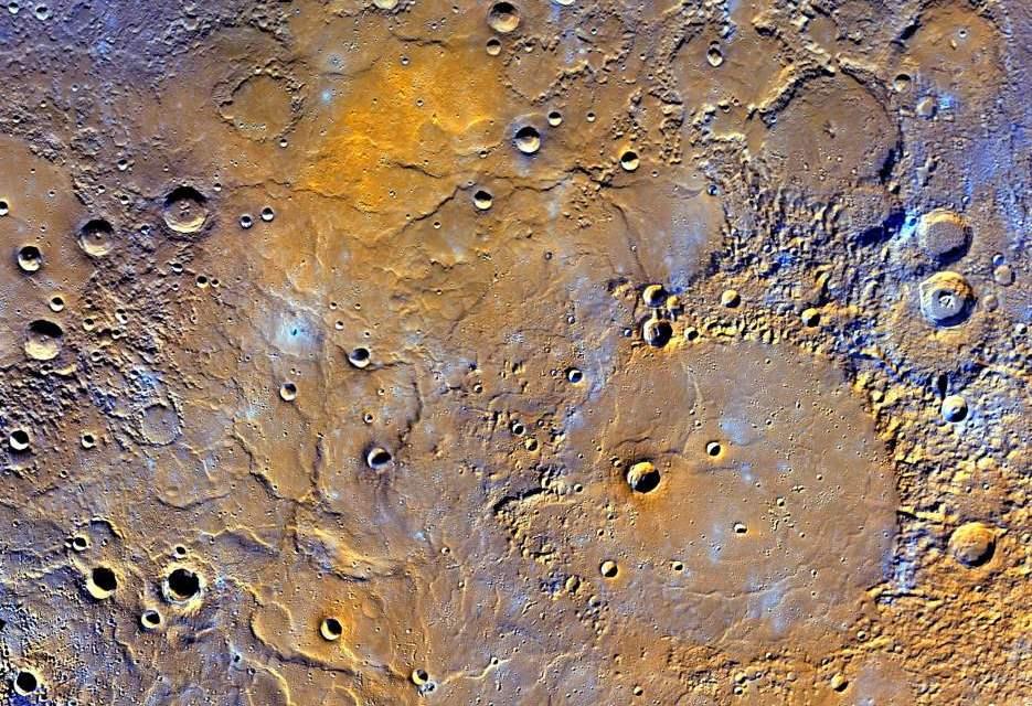 Las alturas y profundidades de Mercurio