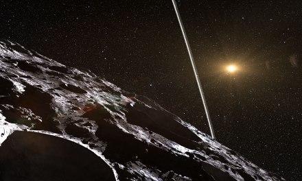 Los anillos de los asteroides centauros