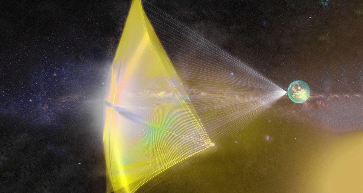 La erosión de las sondas de Breakthrough Starshot