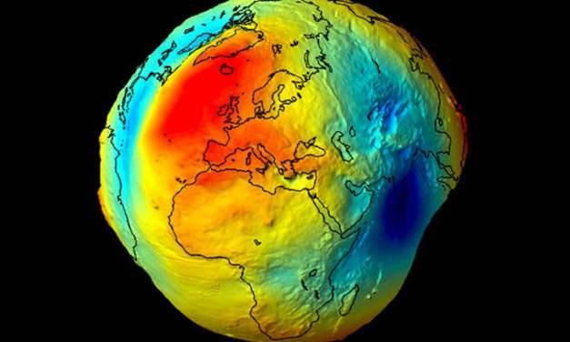 La verdadera forma de la Tierra