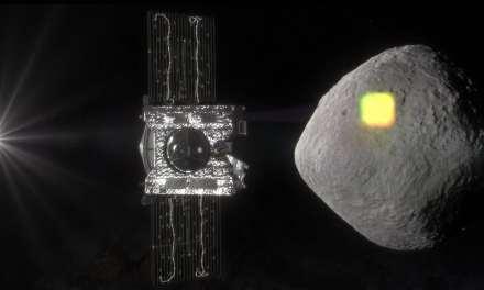 OSIRIS-REx detecta agua en el asteroide Bennu
