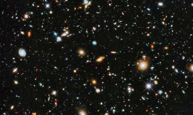 Los núcleos de las galaxias se formaron 1500 millones de años tras el Big Bang