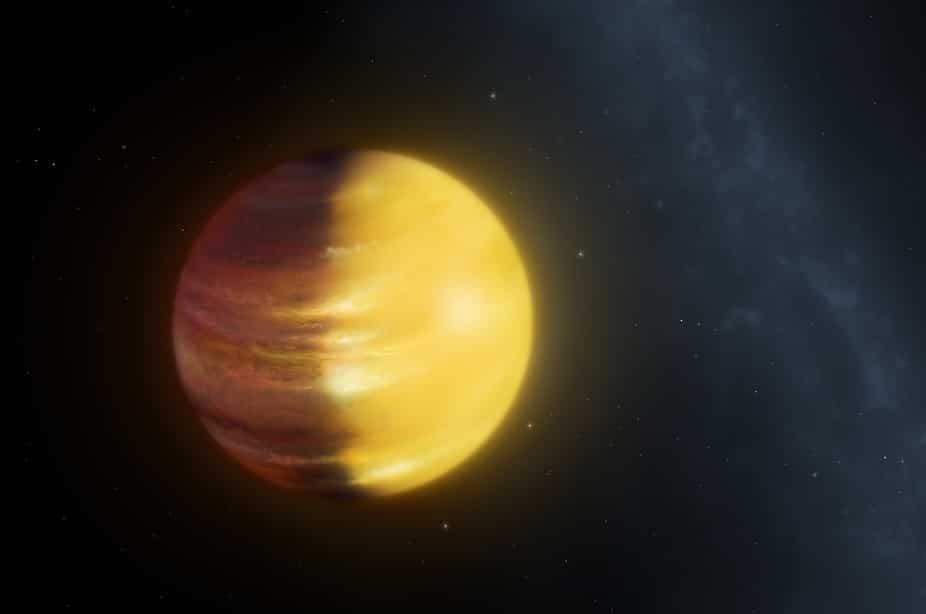 Analizan el clima de un exoplaneta gigante por primera vez