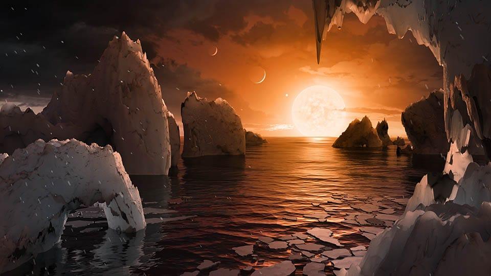 SETI escucha al Imperio Galáctico de TRAPPIST-1