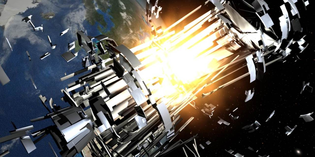Gateway Earth: un plan para reciclar basura espacial