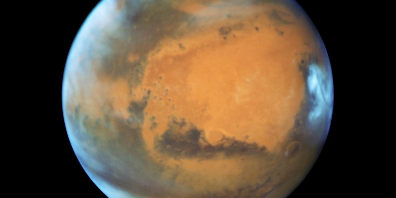 La inclinación de Marte fue mayor en el pasado