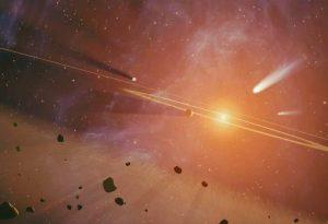 ¿Hay restos de un planeta destruido en el Sistema Solar?